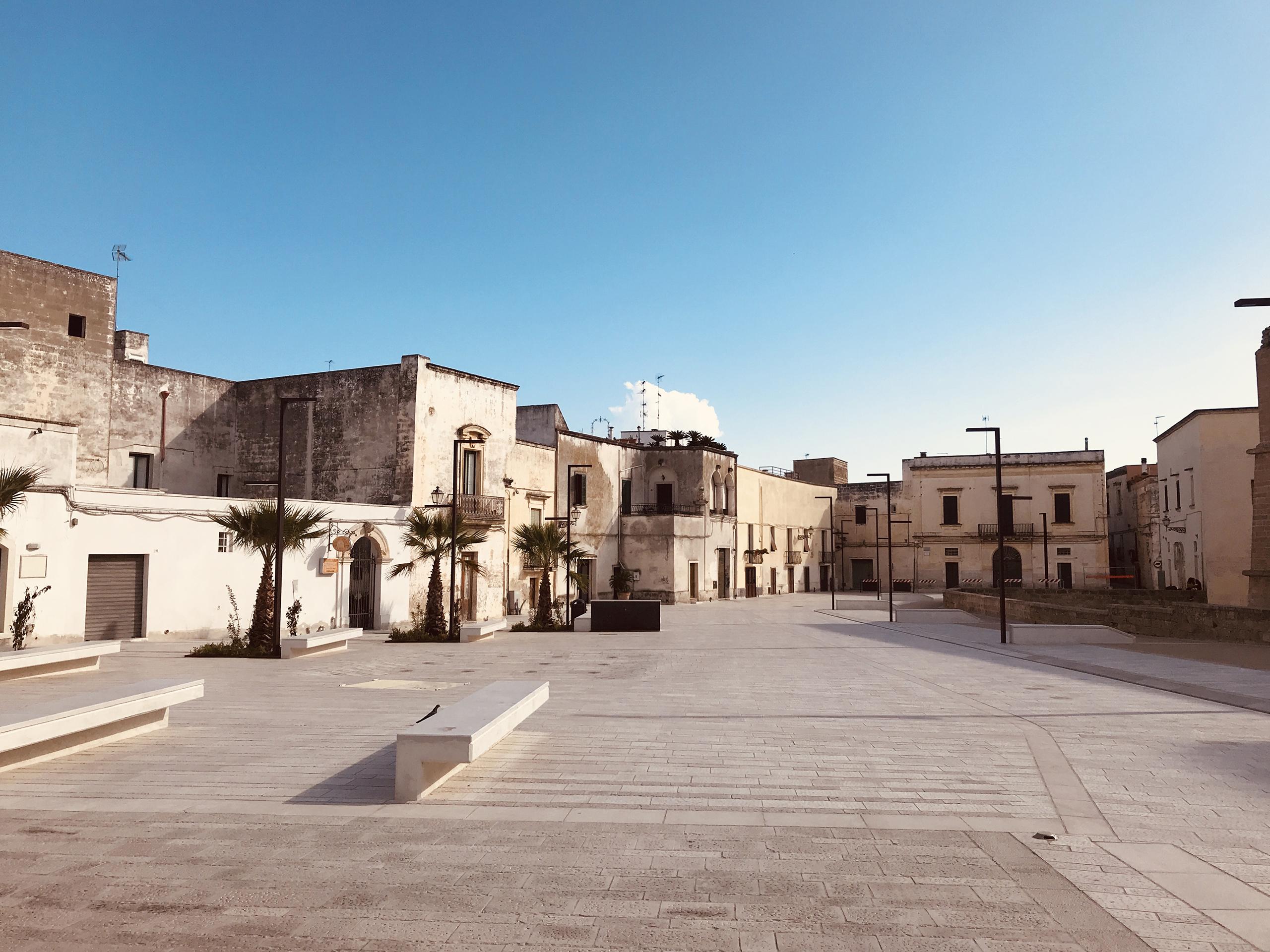 Copertino piazza